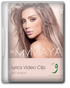 Maya Diab My Maya (Lyrics Video Clip) 2015